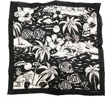 Ralph Lauren Purple Label Hawaii Hawaiin Linen Handkerchief Pocket Square Scarf