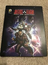 Justice League: Gods and Monsters (Blu-ray) Exclusive Steelbook Dc Like New