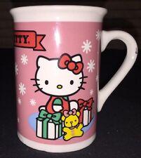 Hello Kitty Sanrio Coffee Tea Mug Cup Holiday Christmas 2013