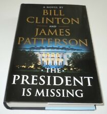 The President Is Missing Book SIGNED Bill Clinton James Patterson 1st Print / Ed