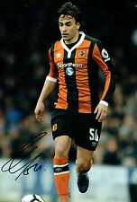 Lazar MARKOVIC Signed Autograph 12x8 Football Hull City Photo A AFTAL COA