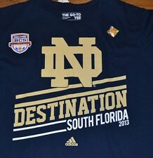 Notre Dame Officially Licensed Adidas The Go-To Tee Size Medium BCS National