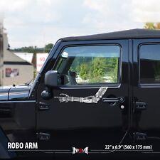 TERMINATORs ROBOT ARM Hand Gears Jeep Truck Car Vinyl Sticker Decal