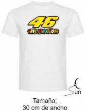 CAMISETA 184 VALENTINO ROSSI MOTO GP THE DOCTOR THE BEST T-SHIRT SIL Dm010