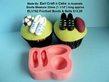 Football Rugby Soccer AFL Mold Cake Decorating Gum Paste Cake Decorating cupcake