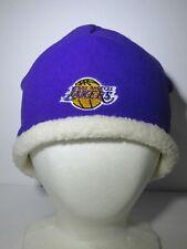 Women's Rebook NBA LA Lakers Beanie Winter Cap Hat NWOT