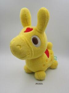 """Rody Horse Yellow B0309 Taito 2008 Gymnic Plush 7"""" Stuffed Toy Doll japan"""