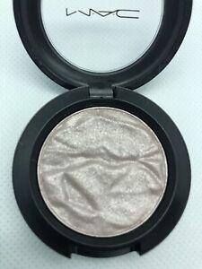 MAC-Foiled Eyeshadow~SWEET ILLUSION~Gray Silver Pink Metallic~Rare! GLOBAL SHIP