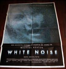 Manifesto cinema 100x140 White noise
