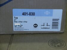 "Dura 401-030 3"" PVC TEE Slip X Slip"