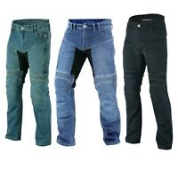 Motorrad Jeans Hose Biker Motorrad Aramid Hose Herren Motorrad Jeans Hose blau