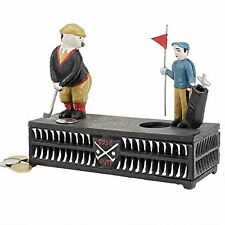 SP1312-The Golfer:This Putt is for a Birdie Collectors' Die-Cast Mechanical Bank