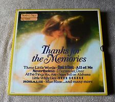"Thanks For The Memories / Artists & Songs Of The 1930s / 8-12""LP Box Set 1978"