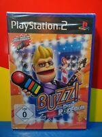 Playstation 2 Spiel PS2 - Buzz! Das Pop-Quiz - NEU NEW OVP Sealed