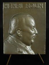 Médaille Henri Rolin Homme politique Belgique Etterbeek Gand Affaire Coopée