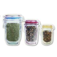 Reusable Produce Bags Mesh Vegetable Fruit Toys Storage X3I0 Container Pouc O4L4