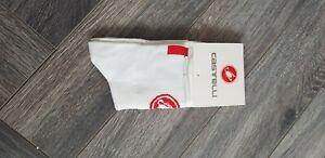 New Short White Cycling Socks Size 7-13