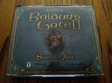 Baldur's Gate 2 : Shadows of Amn PC game (4 discs) Complete!