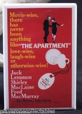 The Apartment Movie Poster - Fridge Magnet. Jack Lemmon Shirley MacLaine