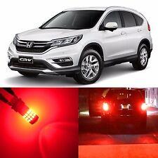 Alla Lighting Brake Signal Light 7440NA 7440A Red LED Bulbs for Honda CR-V CRZ