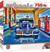 MASTERPIECES WHEELS JIGSAW PUZZLE KICKS ON ROUTE 66 750 PCS #31691