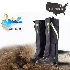 Men's Outdoor Hiking Hunting Snow Snake Waterproof Boots High Legging Gaiters