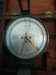 Vintage Keuffel & Esser  Surveying Compass, in the Original K&E Case