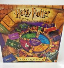 2000 MATTEL HARRY POTTER AND THE SORCERER'S STONE TRIVIA GAME Complete