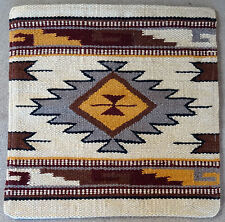Wool Pillow Cover HIMAYPC-50 Hand Woven Southwest Southwestern 18X18