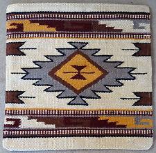 Wool Pillow Cover HIMAYPC-50 Hand Woven Southwest Southwestern 18X18
