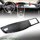 CARBON For TOYOTA GT86 SCION FRS SUBARU BRZ Dash Radio Bezel Panel Trim Interior