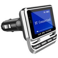 UN3F Bluetooth Car MP3 Player Handsfree Wireless FM Transmitter Radio Adapter