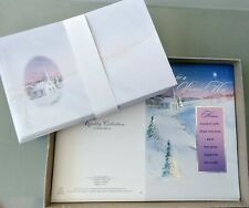 24 Quality Collection Holiday Christmas Cards & Env. Church, Snow, Religious