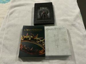 Game Of Thrones- Seasons 1 / 2 / 3 - All with slipcovers