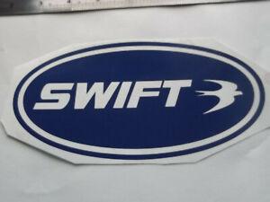 SWIFT LARGE Vinyl Stickers large Caravan Camping  set x4