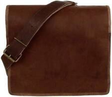 Men's Genuine Vintage Leather Messenger Bag Shoulder S Laptop S Briefcase bag