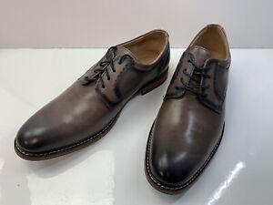 Stacy Adams Faulkner Shoes, Men's Size 10 W, Gray