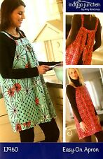 EASY-ON APRON SEWING PATTERN, From Indygo Junction NEW