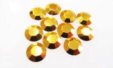 Gold Jewellery Making Hotfix/Iron On Beads