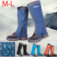 Waterproof Outdoor Climbing Hiking Snow Ski Shoe Leg Cover Boot Legging Gaiters