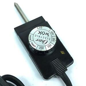 Oster Wok Temperature Control Heat Probe Power Cord Model 9954-03A 4.C2