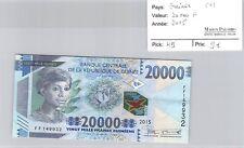 BILLET GUINÉE - 20 000 FRANCS 2015 (9)