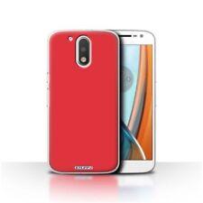 Fundas y carcasas Para Motorola Moto G4 color principal rojo para teléfonos móviles y PDAs Motorola