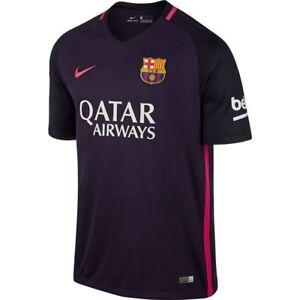 Nike Barcelona 2016-17 boys away shirt - boys S (age 8-10) RRP of £51.99