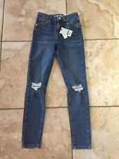 Ripped, Frayed High L26 Jeans for Women