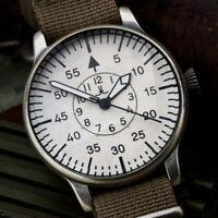 AVIATION Fliegeruhr B-Uhr BIG MILITARY Uhr Beobachtungsuhr Luftwaffe Pilotenuhr