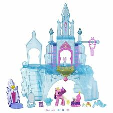 My Little Pony Explore Equestria Crystal Empire Castle *lights + 16 accessories
