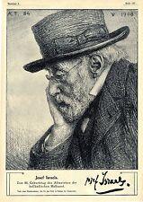 Jozef di Israele Platini della pittura olandese stilizzati Handz. dott. Jan Veth bildd. 1909