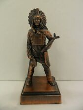 Antique Finished Indian Chief Pencil Sharpener - New In Box -