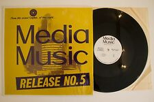 CAPITOL MEDIA MUSIC Release 5 #5 scarce late 60's jazz library LP